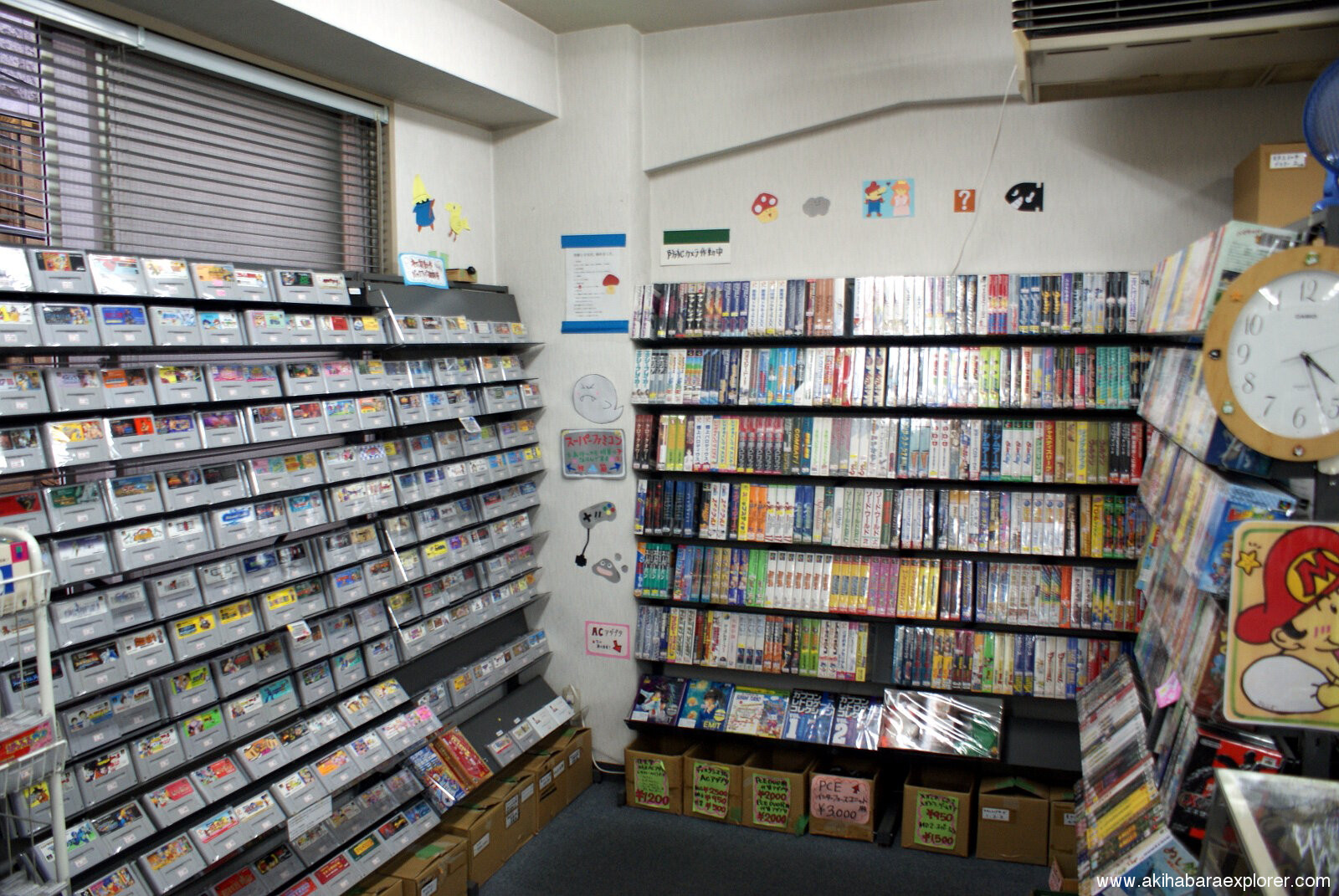 Retro Game Friends - Location and Information - Akihabara